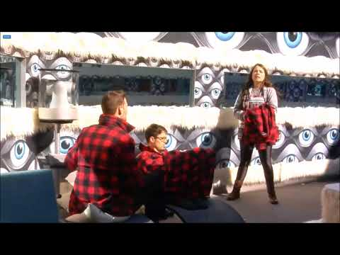 Big Brother Canada 6 - Johnny/Will Tell Maddy The Plan For Jesse To Go - Live Feeds