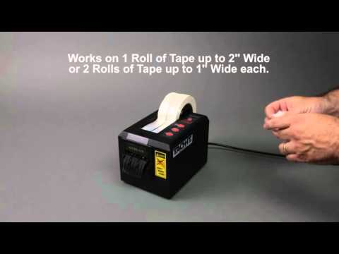 Tach-It 6110 Heavy Duty Semi-Automatic Definite Length Tape Dispenser