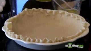 How To Make Light Georgia Pecan Pie With Honey Pecan Topping