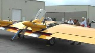 Restored 1940s Northrop Flying Wing