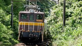 三岐鉄道 保々ー北勢中央公園口 ED45貨物列車