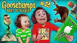 WEREWOLF KNOCKED OFF MIKE's HEAD @AHHH!@#%! GOOSEBUMPS NIGHT OF JUMP SCARES #2 (w/ FGTEEV Chase)