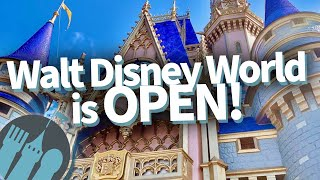 Walt Disney World is OPEN!!