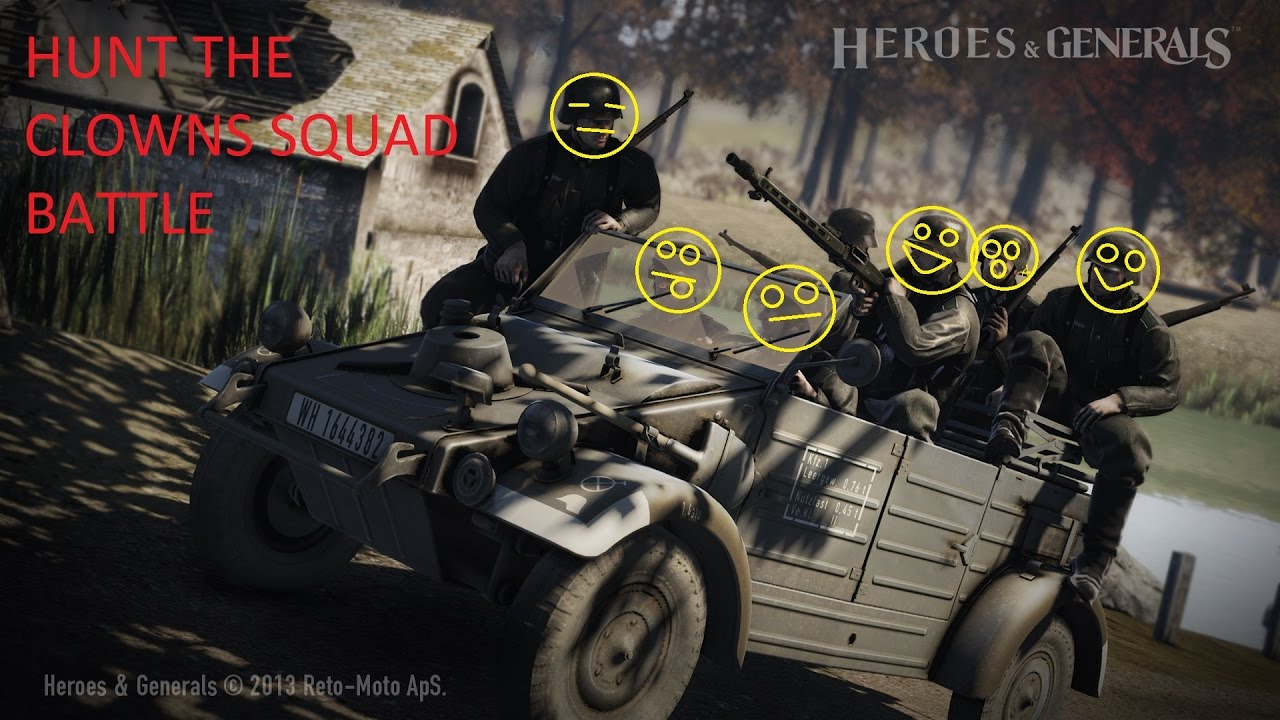 Heroes and generals squad matchmaking