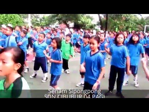 Senam Sipong-pong SDN Cibubur 04 Pagi