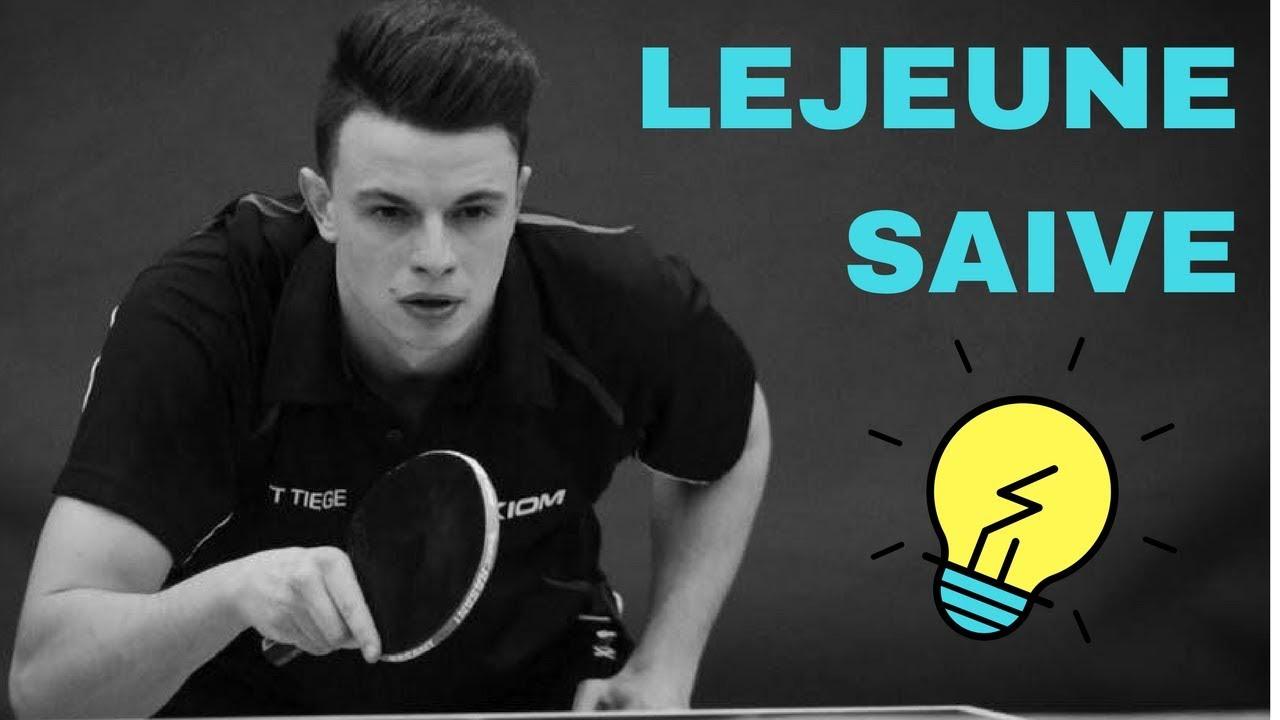 SAIVE Philippe BELGIUM CUP 2017 2018 1/8 TIEGE LOGIS TABLE TENNIS