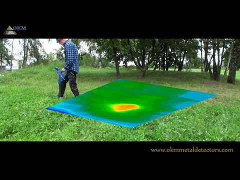 3D Metal Detector Rover C4 for treasure hunters and gold seekers