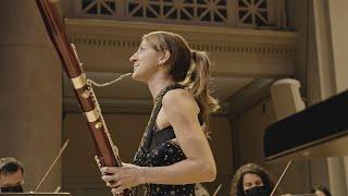 """Valeria Curti plays G. Rossini - """"Concerto da esperimento"""" for bassoon and orchestra"""