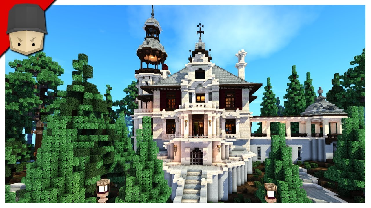Minecraft Gothic Victorian Mansion