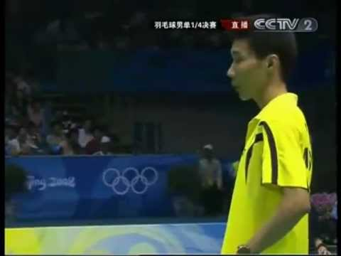 Olympic Games Beijing 2008 MSQF Lee Chong Wei vs Sony Dwi Ku