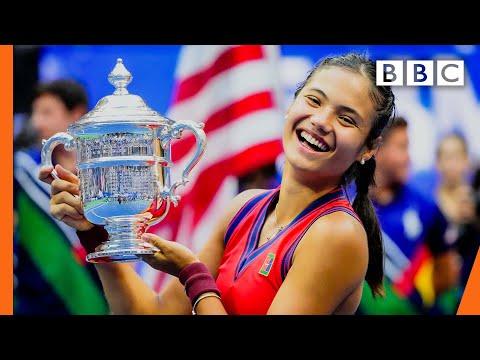 Emma Raducanu, #USOpen CHAMPION 🙌🙌 @BBC News live 🔴 BBC