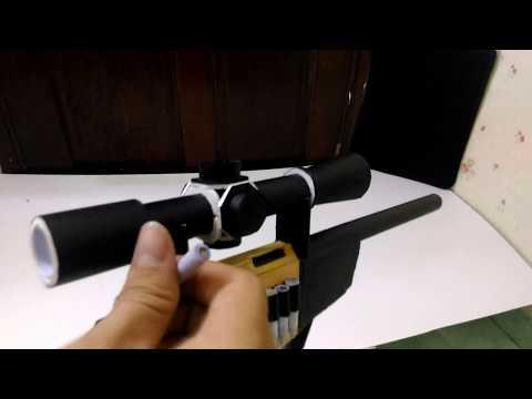 #1 Sniper Rifle That Shoots Paper Bullets : Bolt Action Mechanics !!!