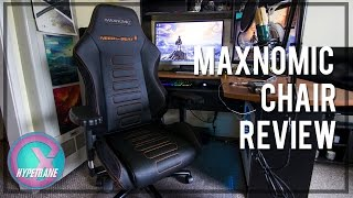 Maxnomic Chair Review!