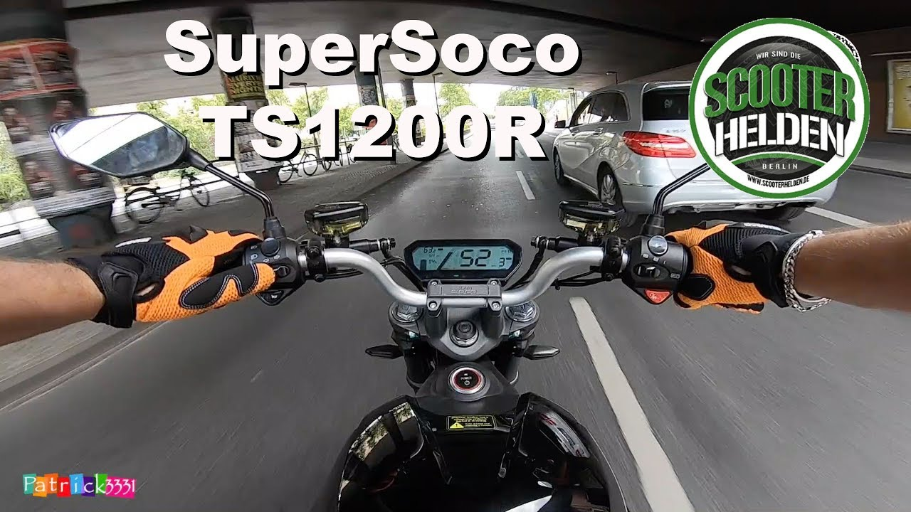 super soco ts1200r testfahrt bei den scooterhelden. Black Bedroom Furniture Sets. Home Design Ideas