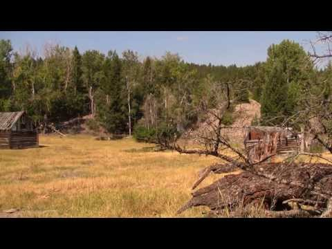 Pioneer City - A Montana Ghost Town - Near Gold Creek, Montana MT