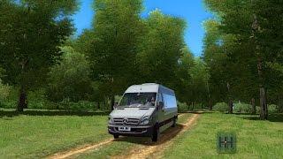 city car driving 1 5 3   mercedes benz sprinter 313 cdi   download link 1080p