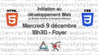 [Cours] Initiation au développement Web