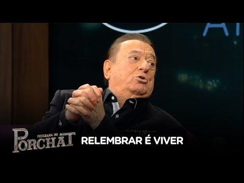 Raul Gil revela que apresentou o primeiro programa a cores da Record TV