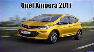 Opel Ampera 2017 Review Interior And Price