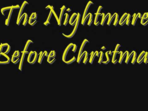The Nightmare Before Christmas::Kidnap The Sandy Claws--LYRICS!