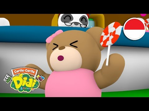 Cerita & Lagu Lucu Anak Indonesia   Didi & Friends   Lolipop Happy Bear