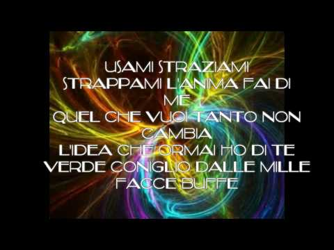 Negramaro - Mentre tutto scorre (lyrics)