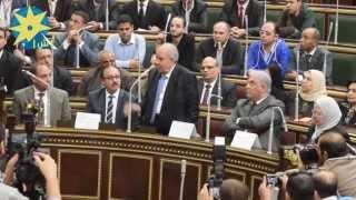 بالفيديو : حضور وزيري الشئون القانونية والاتصالات تجربة على نظام التصويت الإلكتروني بمجلس النواب