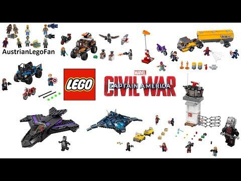 All Lego Captain America Civil War Sets Compilation - Lego S