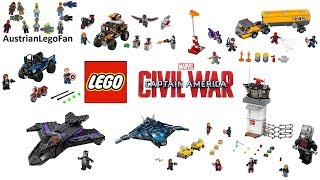 All Lego Captain America Civil War Sets Compilation - Lego Speed Build Review
