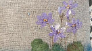 #깽깽이풀그리기#천아트#들꽃그리기#쉽게그리는꽃그림