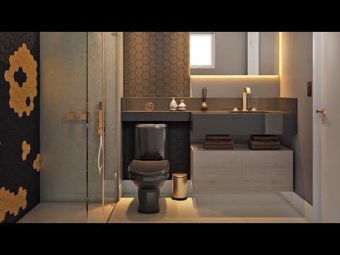50 Beautiful Bathroom Design Ideas For Your Home | Modular Attached Bathroom Designs
