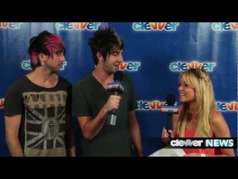 Alex Gaskarth and Jack Barakat Interview - New All Time Low Album, Jalex and Manginas -- 2012