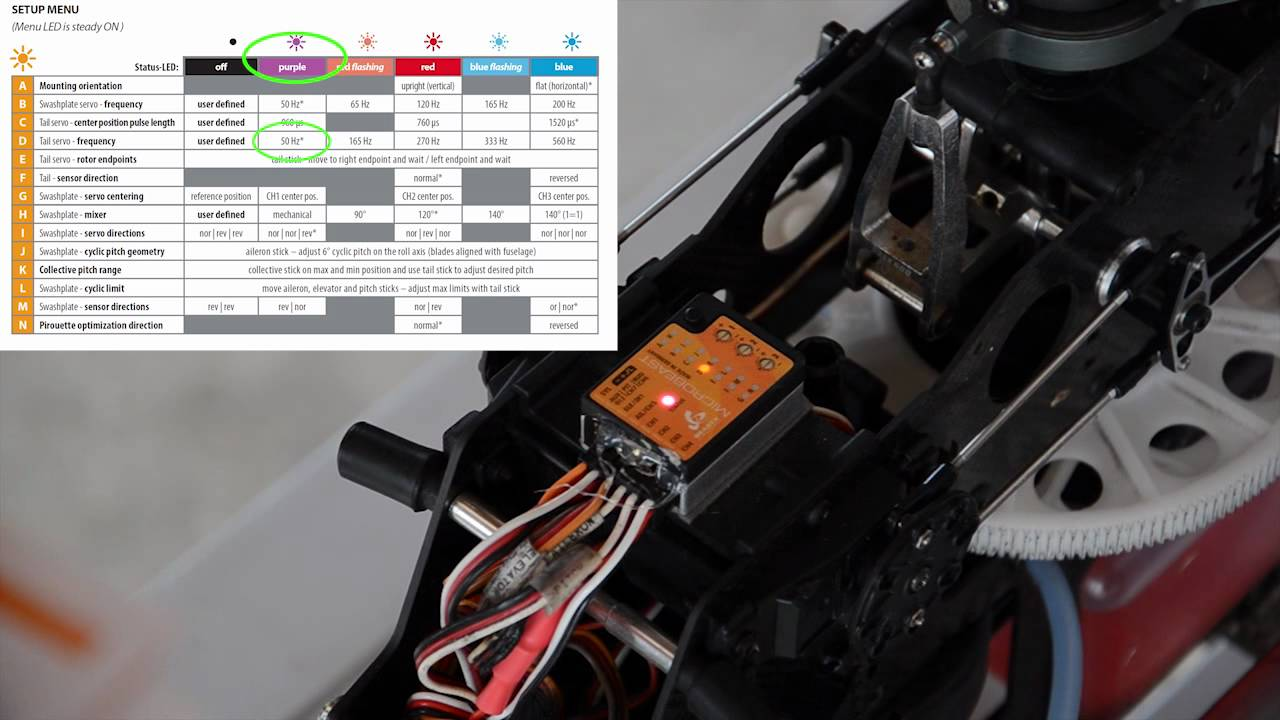 Microbeast Flybarless Controller