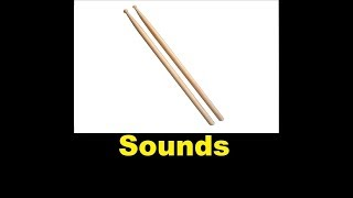 Drum Stick Sound Effects All Sounds