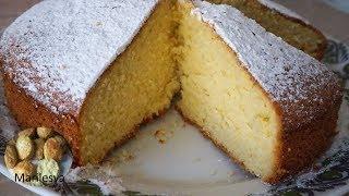 бисквит на сметане рецепт  Как приготовить сметанный бисквит   sour cream cake