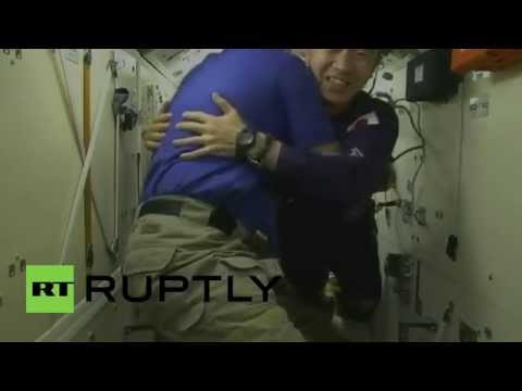 ISS: Three new crew members welcomed aboard ISS