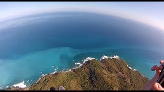 Paragliding Exotic Places in Dominican Republic (to view on mobile, see description)
