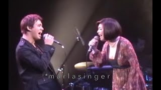 Bakit Ba Inibig Ka (Live) - Erik Santos & Regine Velasquez