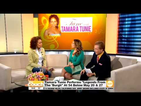 Tamara Tunie Stops By The Couch