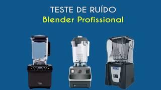 Teste de Ruído - Liquidificador Profissional