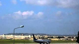 Malta airport.