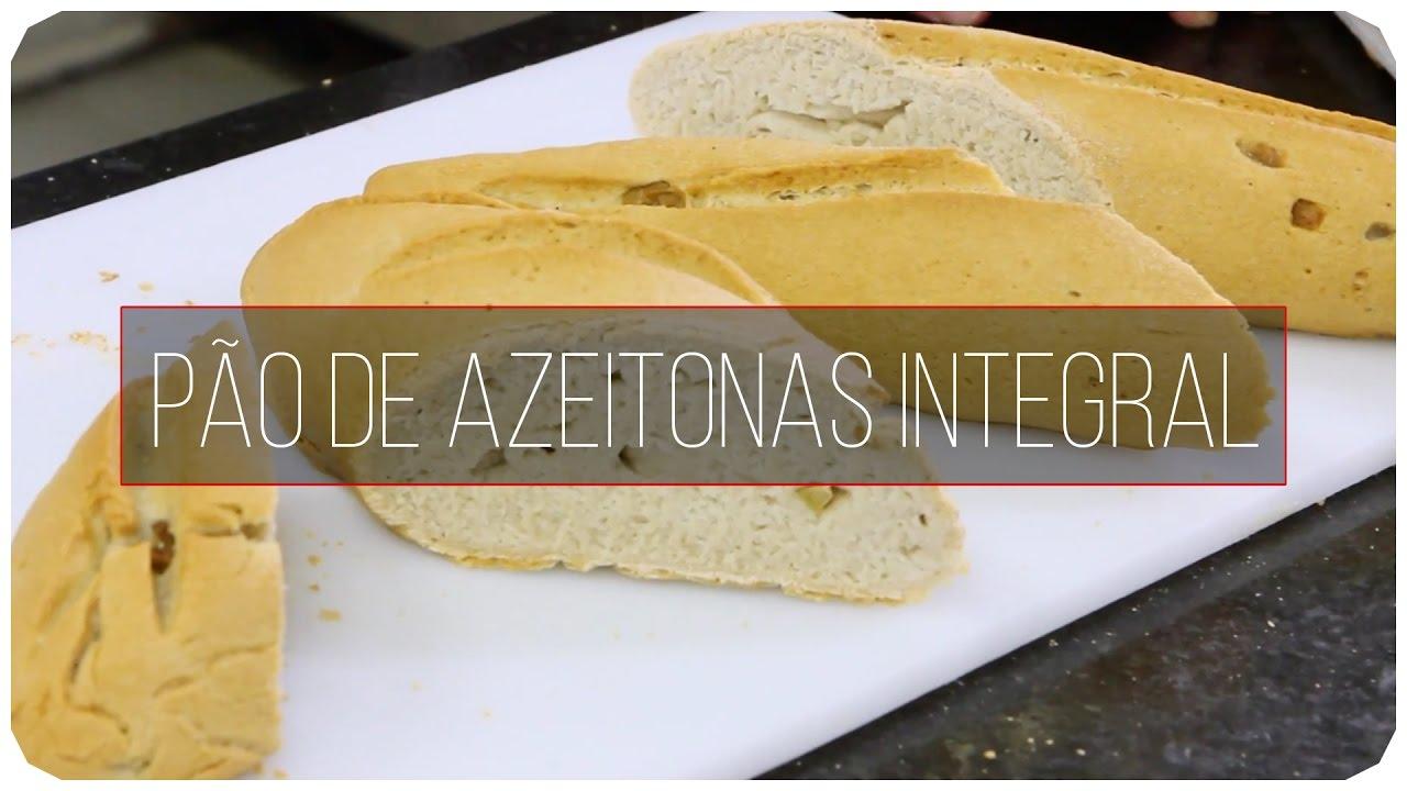 Pão de Azeitonas sem glúten