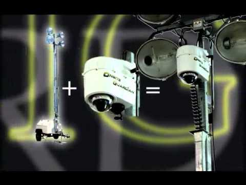 Mobile Video Surveillance and Construction Site Security Camera ...