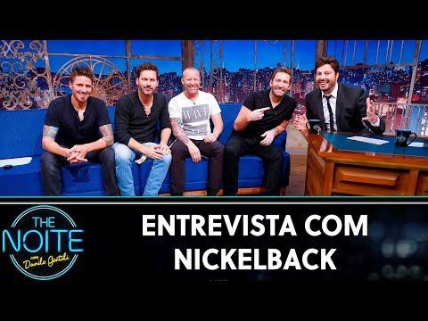 Entrevista Com Nickelback   The Noite (18/10/19)