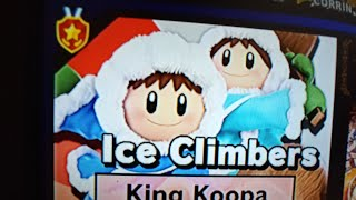 New) Ice Climbers classic mode run at 1.0 Intensity in Super Smash Bros Ultimate for Nintendo Switch