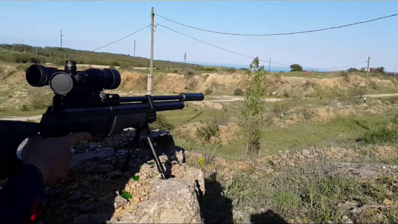 Пневматическая винтовка МР-61-09 - YouTube
