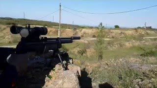 пневматическая винтовка PCP Hatsan AT-44 4,5mm. Обзор и стрельба на 95 метров