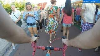 [Turnu-Severin] Festivalul Berii 2018 - Cu bicla prin multime