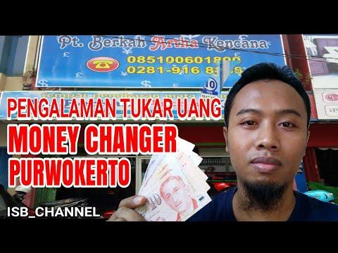 MENUKAR UANG ASING DI MONEY CHANGER PURWOKERTO