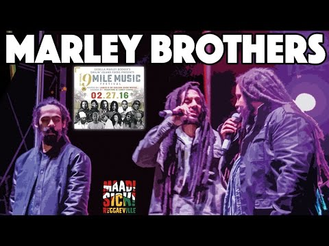 Marley Brothers  Is This Love & Buffalo Soldier @9 Mile Music Festival 2016